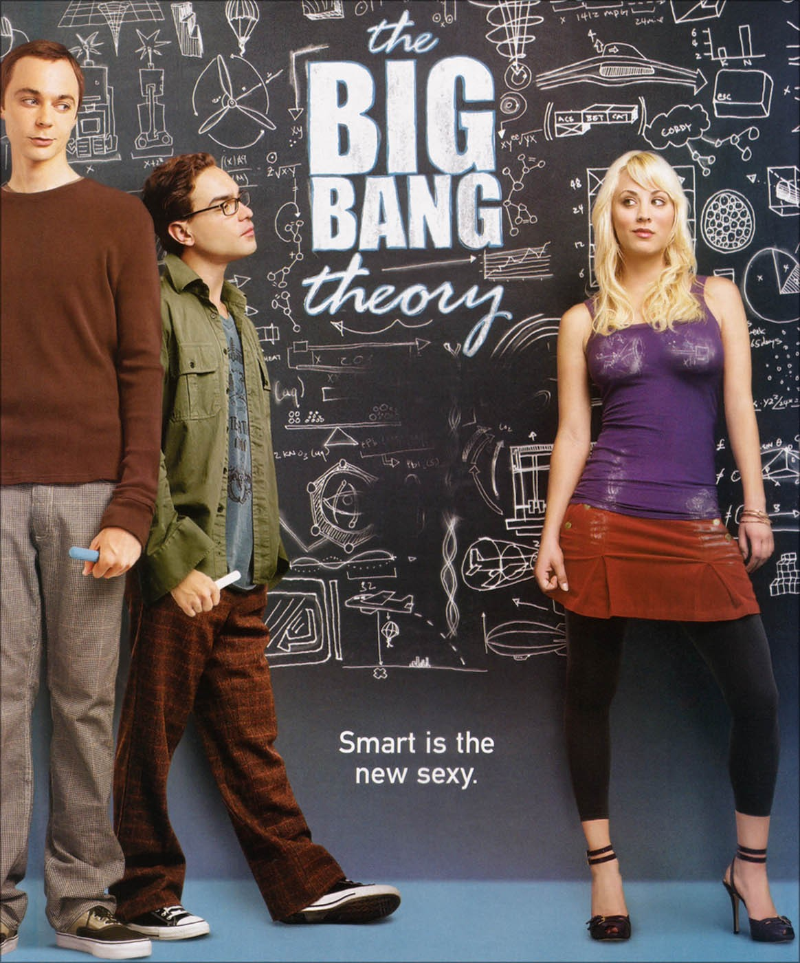 biig bang theory poster