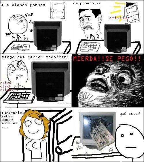 viendo porno